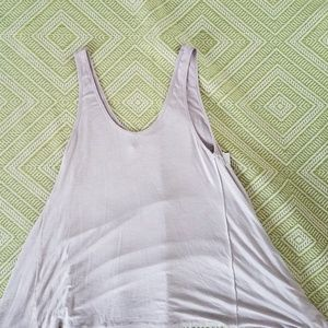 Maurices sleeveless tan flowy top